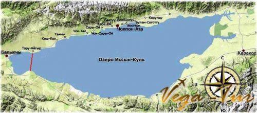 Кыргызстанец Эркин Асрандиев переплыл Иссык-Куль за 5 часов 24 минуты (видео)