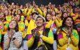 Граждане Кыргызстиана участвуют во Всемирном фестивале молодежи