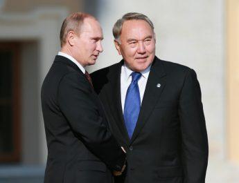 Владимир Путин отметил высокий уровень стратегического партнёрства с Казахстаном