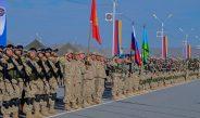 Кыргызстанские военнослужащие участвует в учениях КСОР ОДКБ «Взаимодействие-2017»