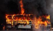 В Казахстане сгорел автобус: Погибли более 50 человек