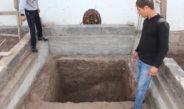 Житель Таджикистана нашел амфора с останками человека (фото)