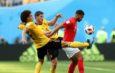 Бельгия стала бронзовым призёром ЧМ по футболу