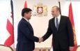 В Тбилиси премьер-министр Кыргызстана встретился главой правительства Грузии