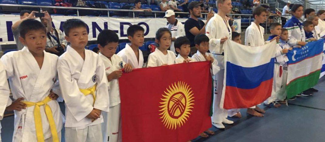 В Бишкеке стартовал Чемпионат Азии по таэквондо ITF 2018