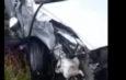 На дороге Ош-Бишкек «Хонда фит» попал в аварию