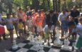 В Бишкеке появилась большая шахматная доска