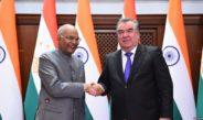 В сети опубликовано меню угощения президента Рахмона для главы Индии
