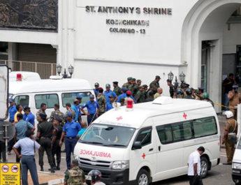 Теракт в Шри-Ланке: Число жертв достигло 290, задержаны 13 подозреваемых