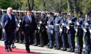 Фоторепортаж официального визита президента Жээнбекова в Германию