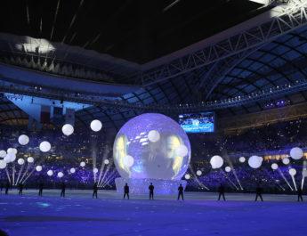 В Катаре открылся первый стадион к ЧМ-2022