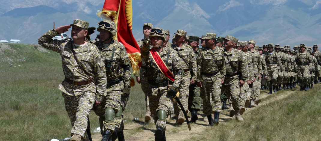 Завершились тактические учения «Сары-таш — 2019»