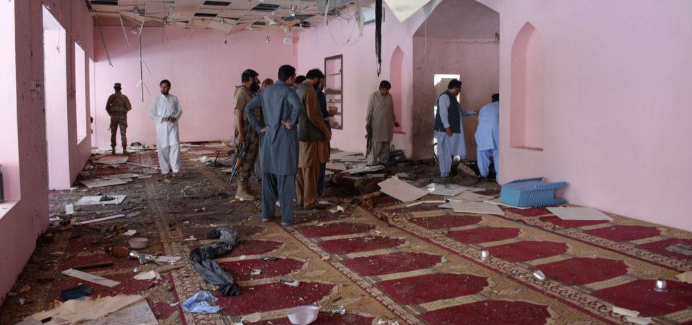 В Пакистане прогремел взрыв в мечети