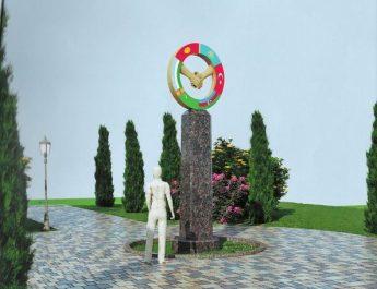 В Оше установят монумент «Город Ош — культурная столица тюркского мира 2019 года»