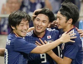 Отбор ЧМ: Япония разгромила Таджикистан со счетом 3:0