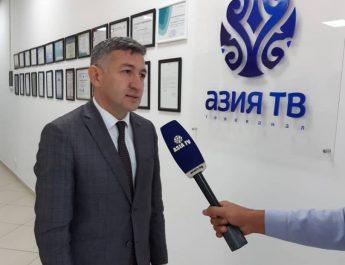 Региональный директор Azerspace посетил «Азия ТВ»