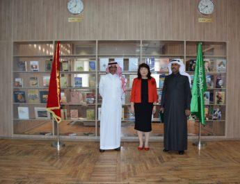 Глава Нацбиблиотеки Саудовской Аравии посетил Нацбиблиотеку КР в Бишкеке