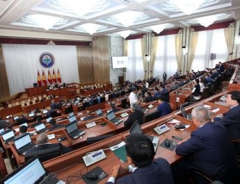 В Жогорку Кенеше КР начали рассматривать проект бюджета на 2020 год