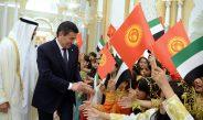 Состоялась официальная церемония встречи президента Кыргызстана с Наследным принцем Абу-Даби — фото