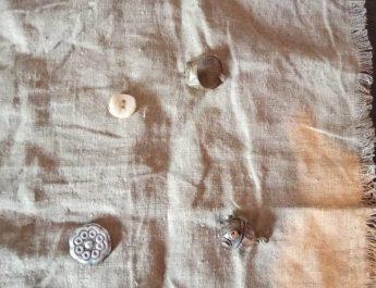 Носовой платок, привезенный из Мекки примерно 300 лет назад