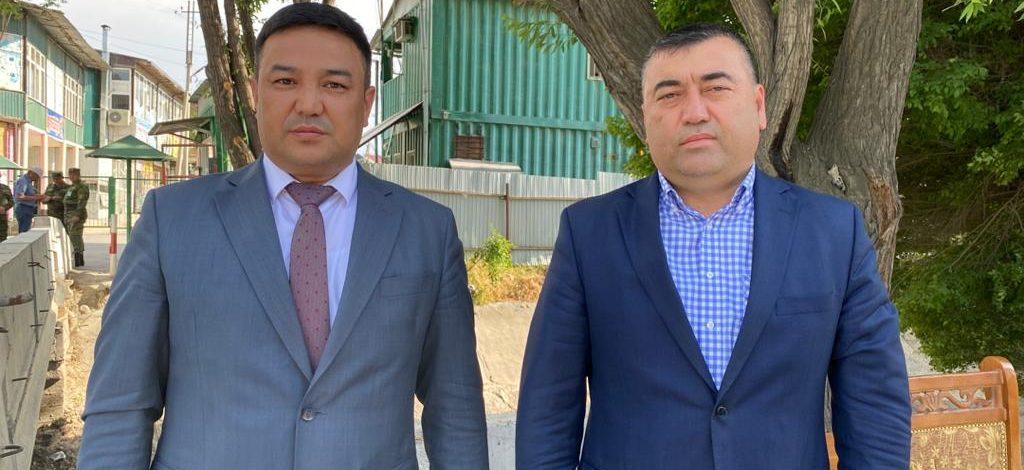 Главы Лейлекского района КР и Гафуровского района РТ провели переговоры