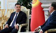 Видео: Переговоры Садыра Жапарова и Эмомали Рахмона в формате тет-а-тет