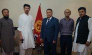 Посол Кыргызстана встретился с этническими кыргызами в Пакистане